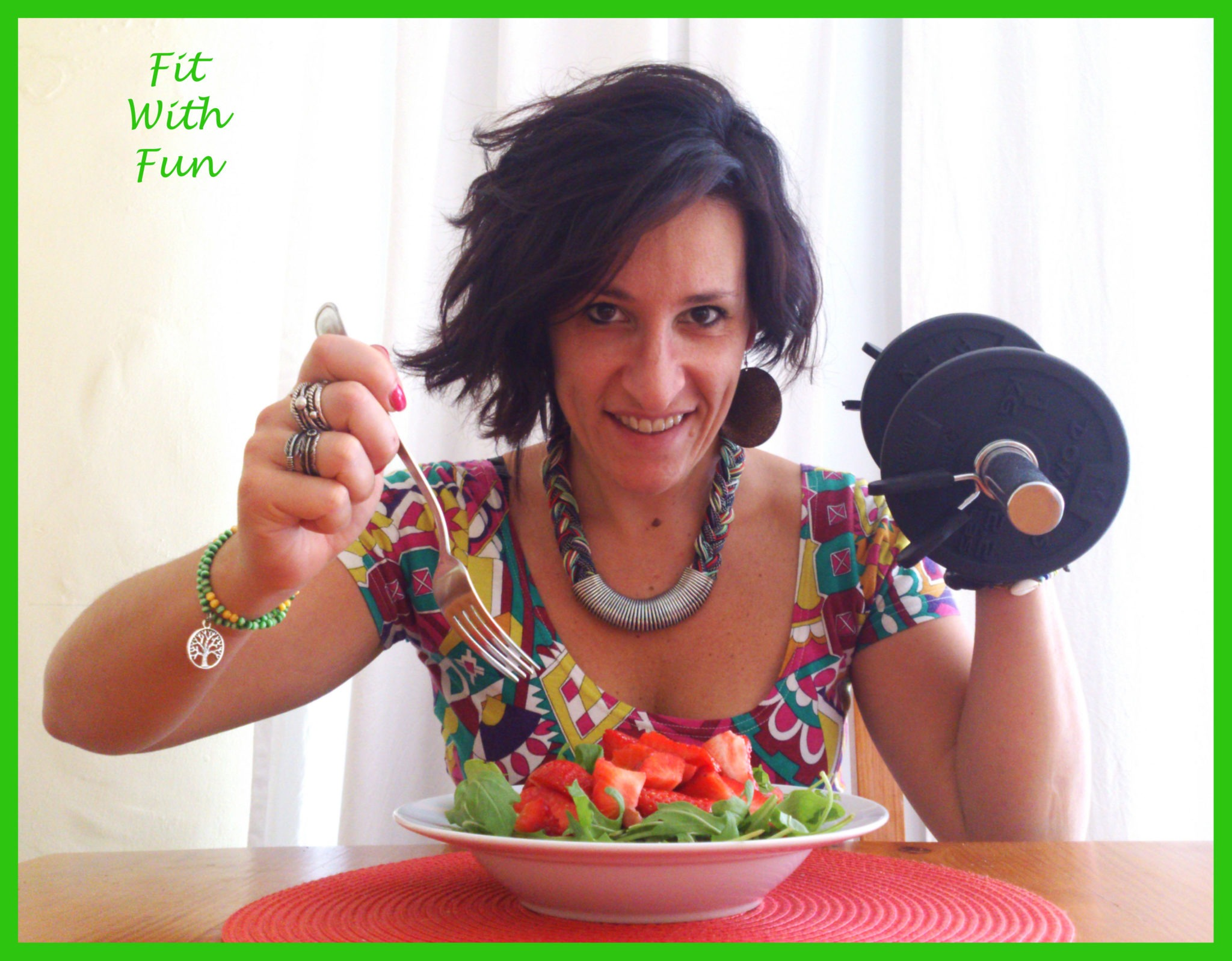 Nicoletta Truglia Food Blogger Fit with Fun