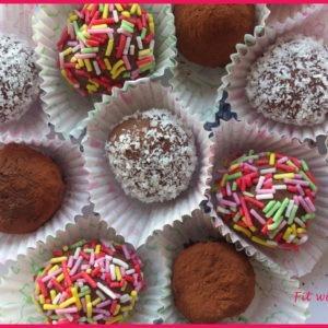 Tartufini Light al Cocco e Cioccolato