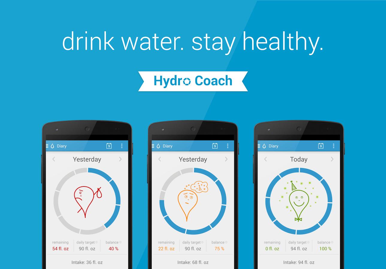 Hydro Coach App