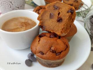 Muffin Burro d'Arachidi e Patate Dolci Senza Farina