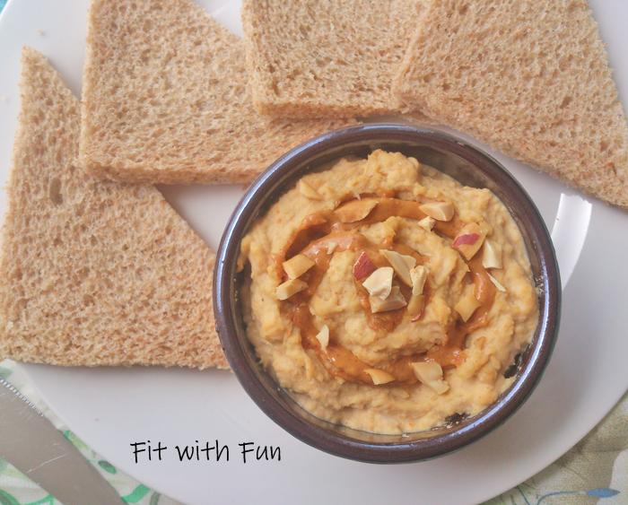 Hummus Salato di Ceci al Burro di Arachidi