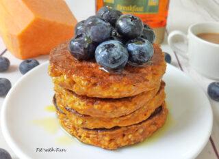 Pancake 4 Ingredienti alla Zucca Fit e Light