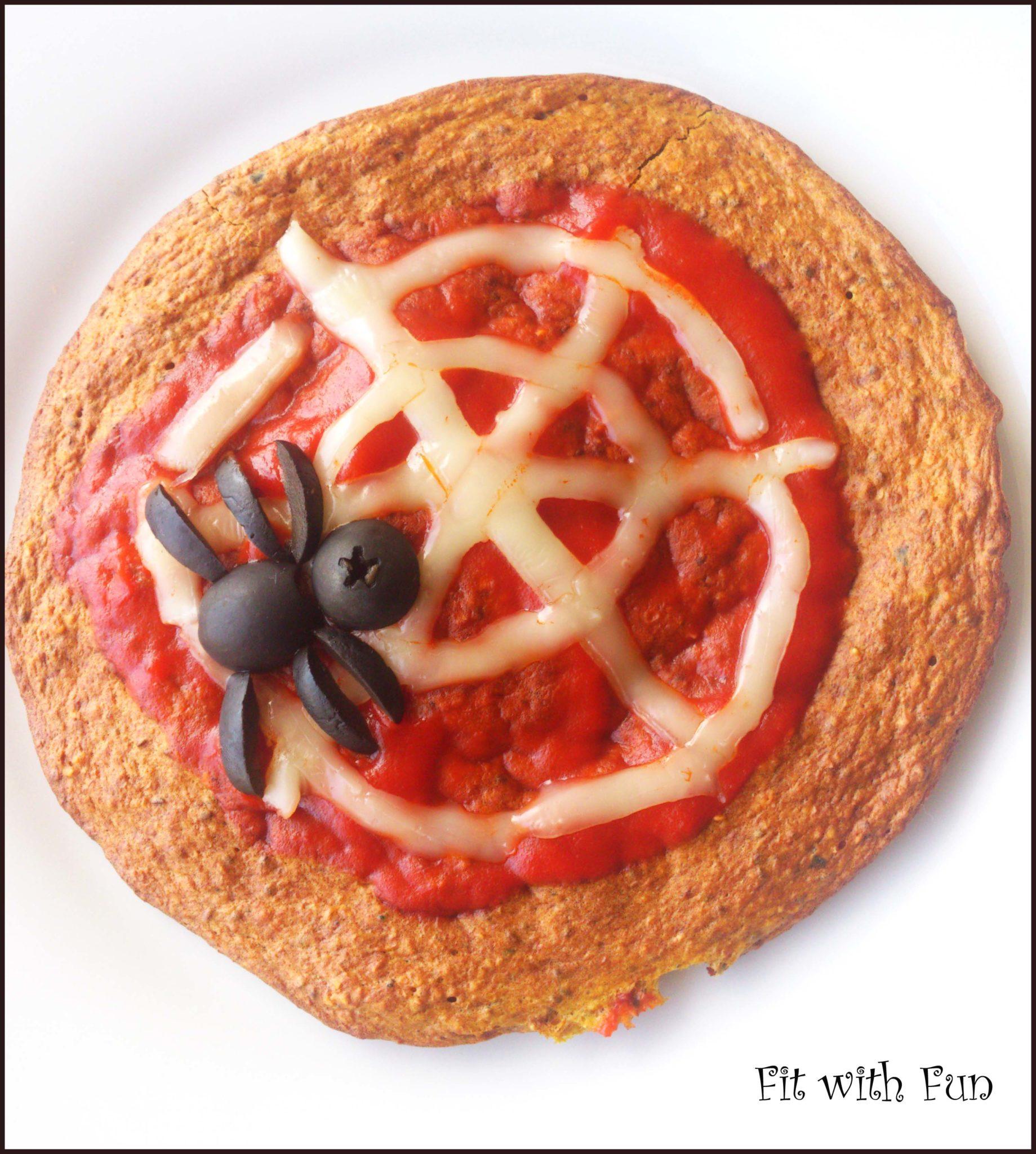 Pizza Proteica con Zucca e Avena ai Semi di Chia