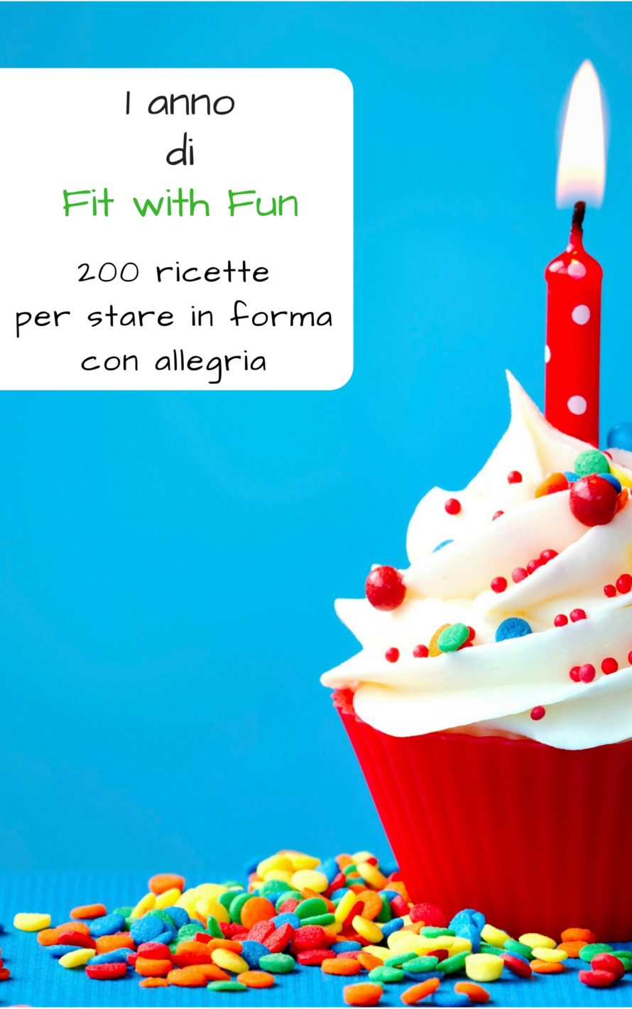 1 anno Fit with Fun - 200 ricette - Ebook Pdf