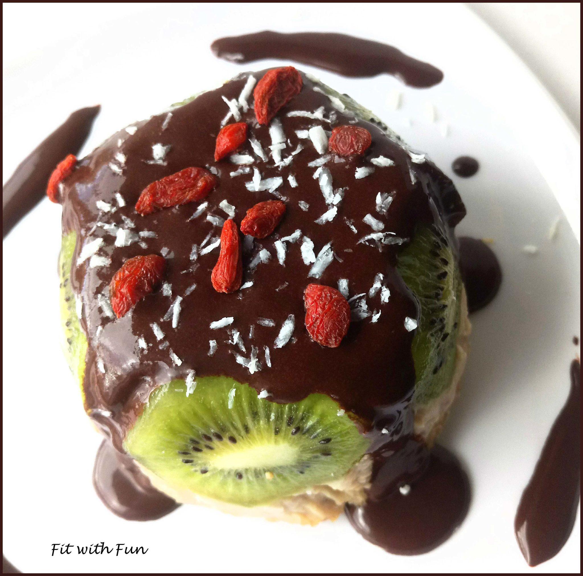 Budino Freddo di Porridge alla Vaniglia con Cioccolato