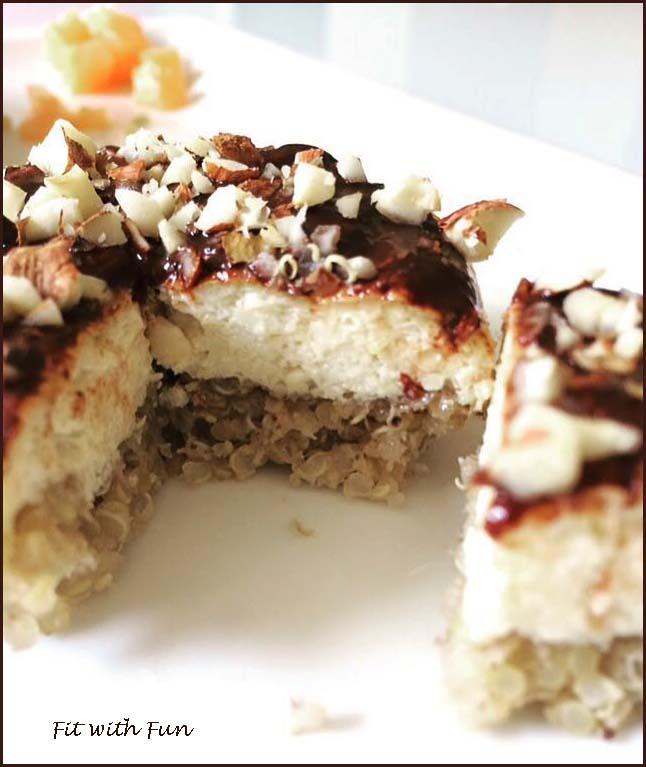 CheeseCake Fit Mono Porzione Vegan e Gluten Free
