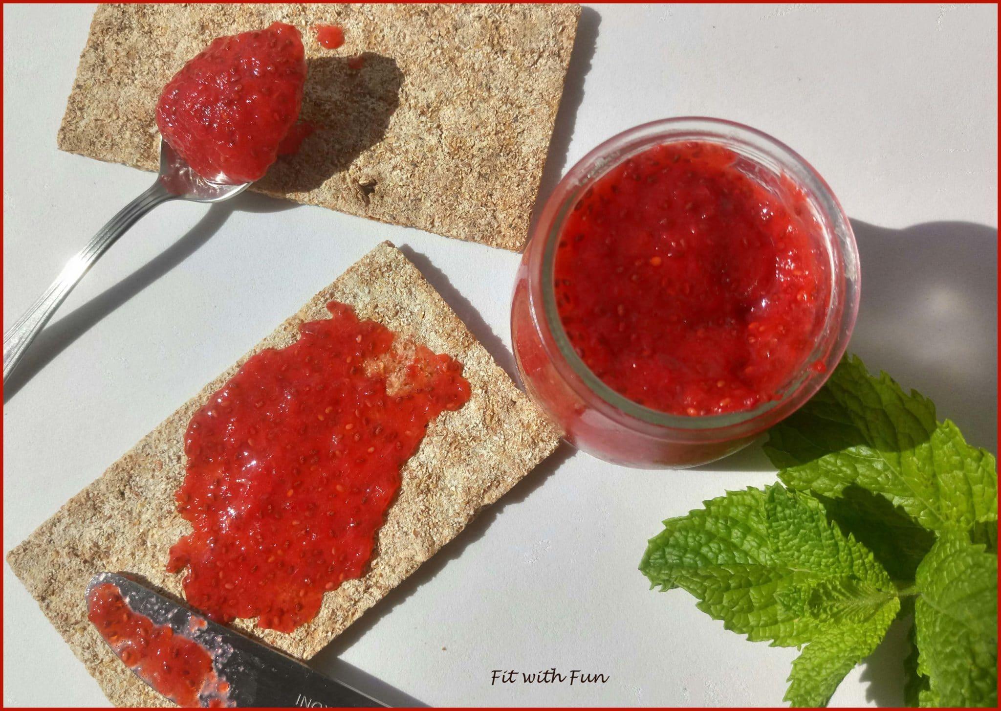 Marmellata di Frutta senza Zucchero e senza Cottura