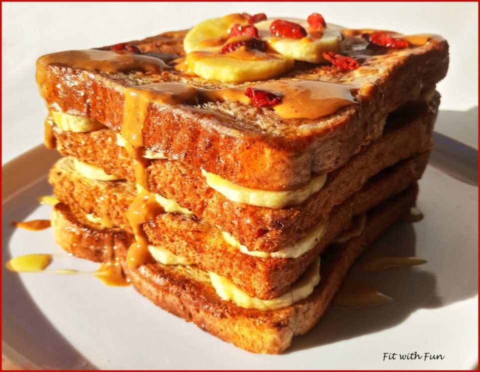 French Toast Fit Ripieno Dolce o Salato