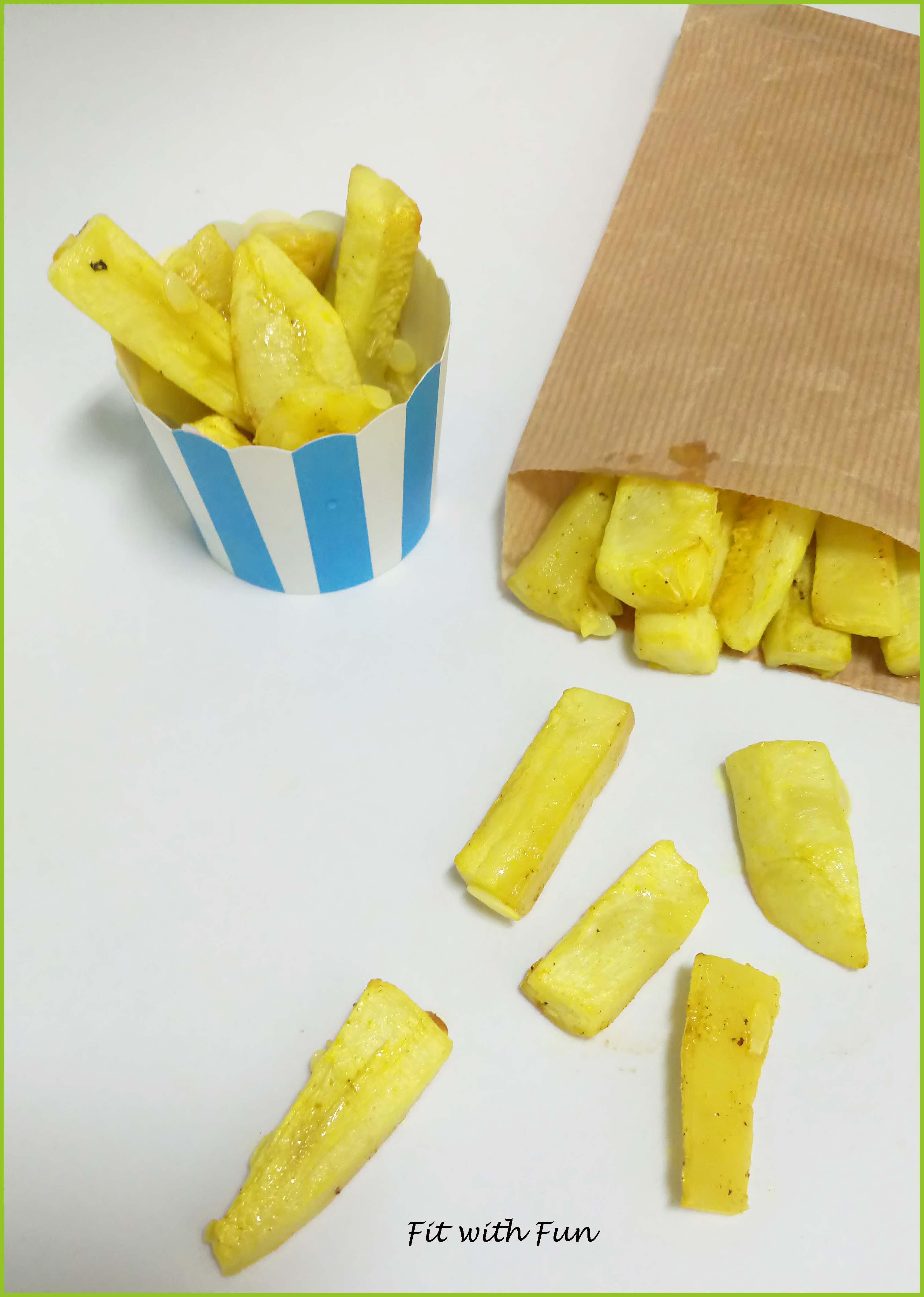 Stick Fit e Light di Zucchine Speziate al Forno
