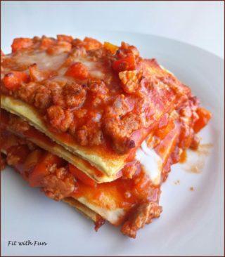 Lasagna Fit Low Carb Proteica e Gluten Free