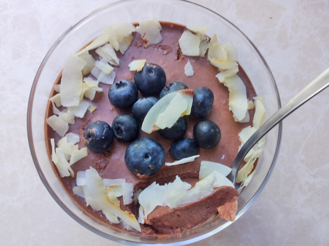 Chia Pudding Chetogenico