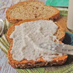 Crema Spalmabile Bianca 100% Cocco Vegan e Gluten Free