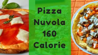 Pizza Nuvola 160 Calorie Low Carb Gluten Free Proteica