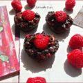Brownies Afrodisiaci di San Valentino al Cioccolato e Lamponi