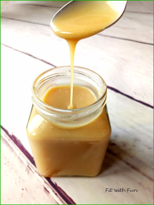 Salsa al Caramello Morbido di Cocco 100% Naturale