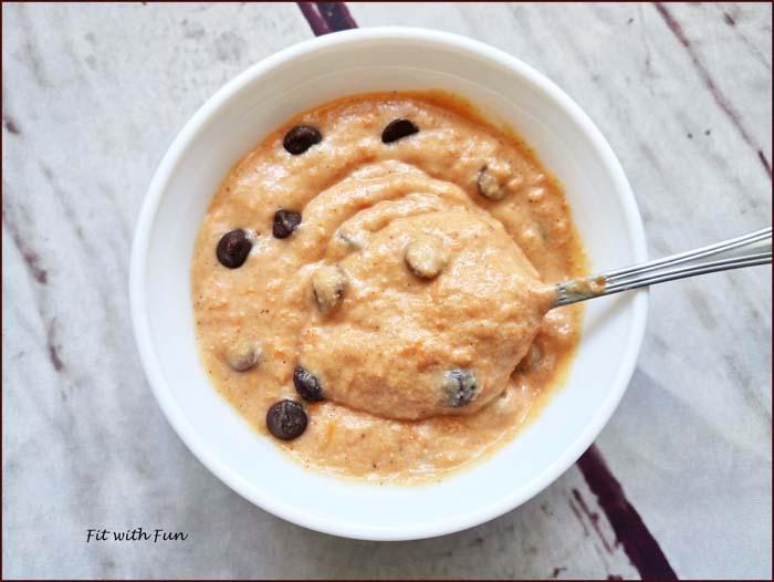 Cookie Dough alla Zucca Vegan e Senza Glutine