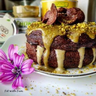 Pancake Senza Glutine Tofu Mandorle e Farina di Carrube