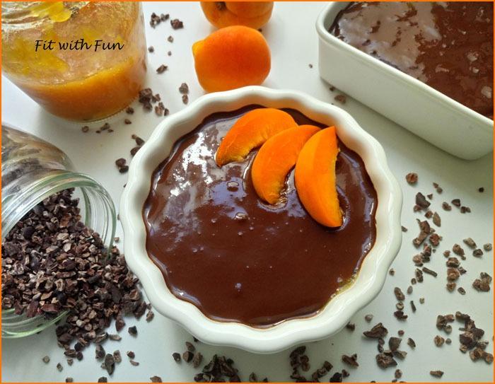 Porridge Freddo Sacher al Cioccolato e Albicocche