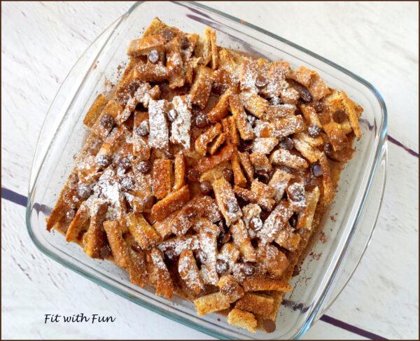 Torta Overnight di French Toast al Forno