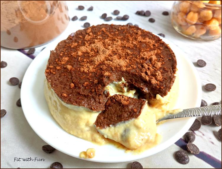 Mini Torta Cookie Dough Ceci Arachidi e Carrube