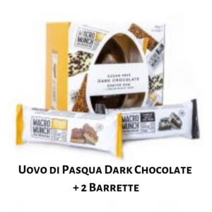 Uovo di Pasqua Dark Chocolate + 2 Barrette