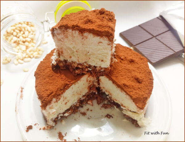 Cheesecake Semifreddo Ricotta Cocco e Cacao