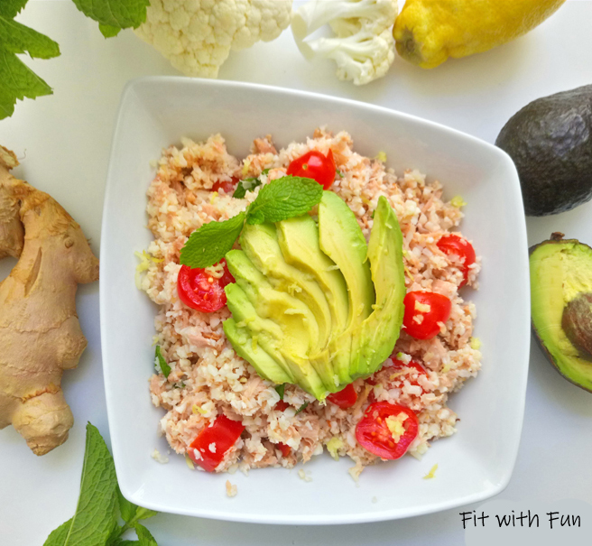 Cous Cous o Riso di Cavolfiore Low Carb