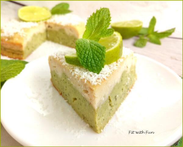 Mojito Cake Torta Lime e Menta Senza Glutine