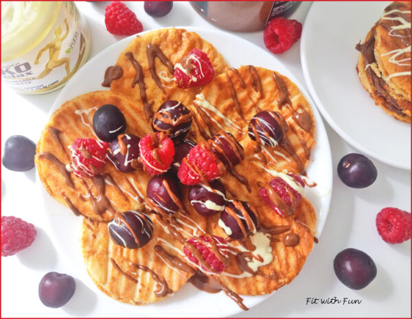 Pancakes di Polentine Light Dolci al Kefir