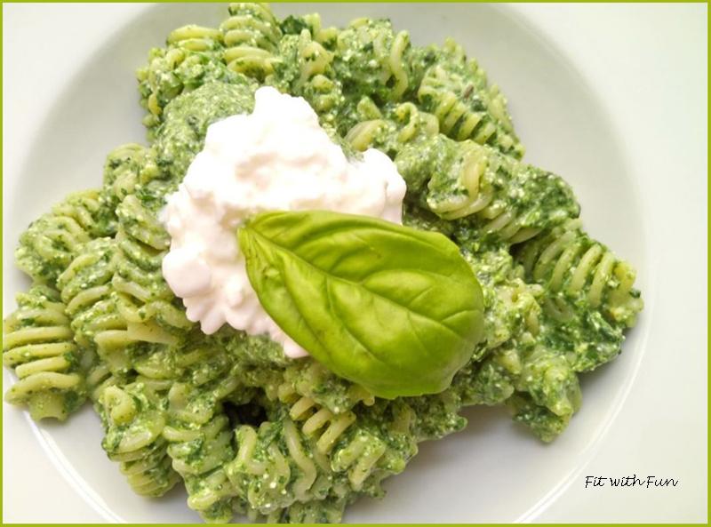 Pesto Fit e Light di Broccoli e Fiocchi di Latte