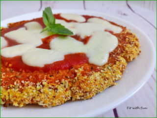 Pizza Pollo Senza Glutine Low Carb Proteica