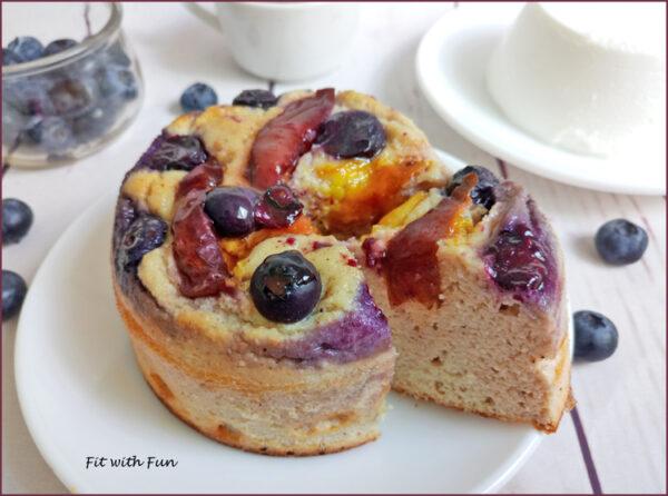 Cheesecake Cotta con Ricotta e Frutta