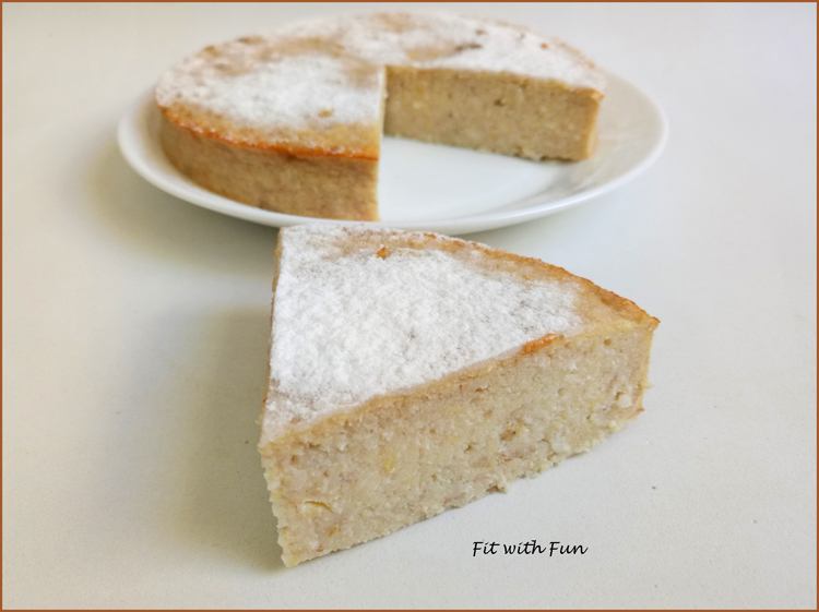 Torta Cheesecake Fit e Light Yogurt e Cocco
