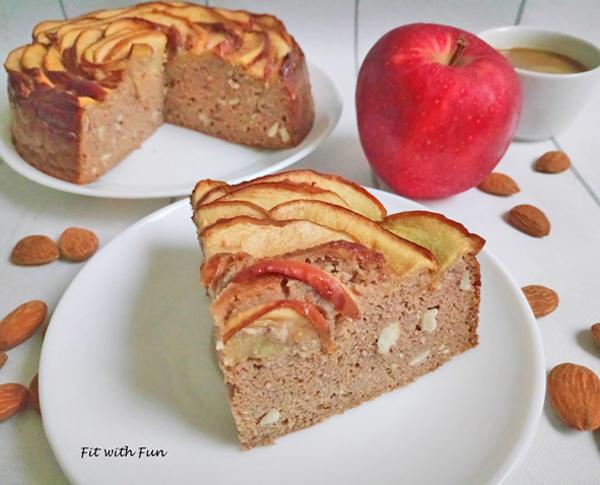 Torta Mele e Mandorle Low Carb e Senza Glutine
