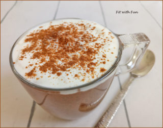 Cappuccino di Chia Pudding Proteico e Low Carb