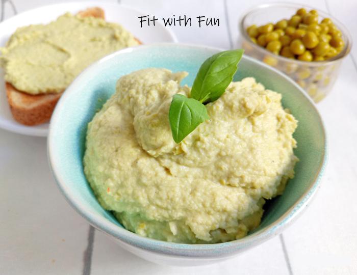Patè di Pollo e Piselli Proteico e Senza Glutine