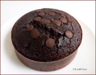 Torta Proteica e Low Carb al Doppio Cioccolato