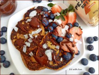 Pancakes di Zucca Proteici e Senza Glutine