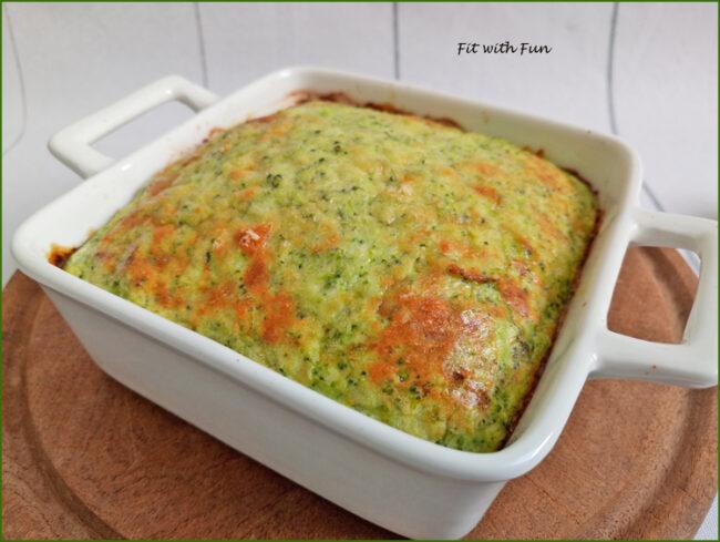 Sformato di Uova e Broccoli Ripieno e Low Carb