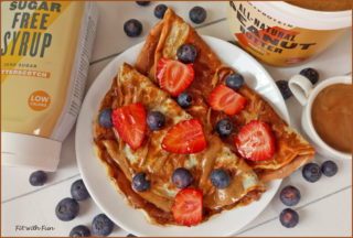 Crepes 2 Ingredienti Proteiche e Low Carb