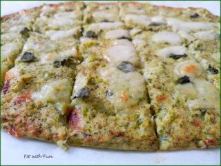 Pizza Stick di Broccoli Cavolfiore e Mozzarella