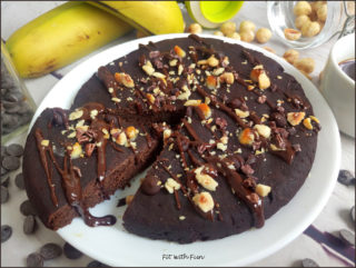 Focaccia Dolce al Triplo Cioccolato