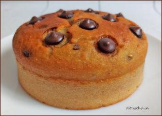 Mini Torta Proteica Cocco e Cioccolato