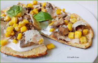 Pizza Veloce allo Yogurt cotta in Padella