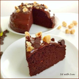 Torta Bacio Low Carb Proteica Senza Glutine