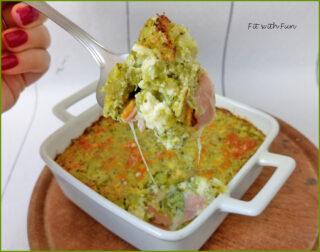 Sformato Keto di Feta e Broccoli ripieno
