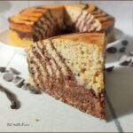 Torta Zebrata Cacao e Vaniglia Proteica