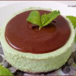 Cheesecake Menta e Cioccolato Senza Cottura