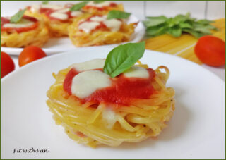 Pizzette di Frittatine di Pasta Facili e Light