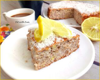 Torta Soffice Cocco Limone e Zenzero